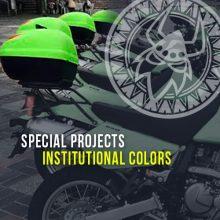 Institutional colors
